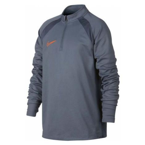 Nike DRY ACDMY DRIL TOP SMR šedá - Chlapčenské športové tričko