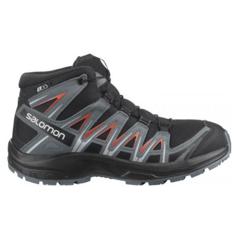 Chlapčenské trekové a outdoorové topánky Salomon