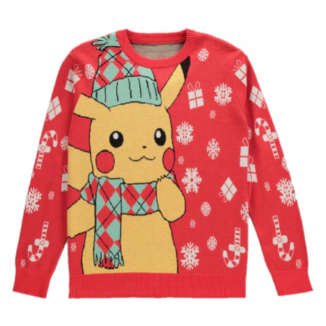 Vianočný sveter Pokémon