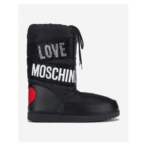 Love Moschino Snehule Čierna