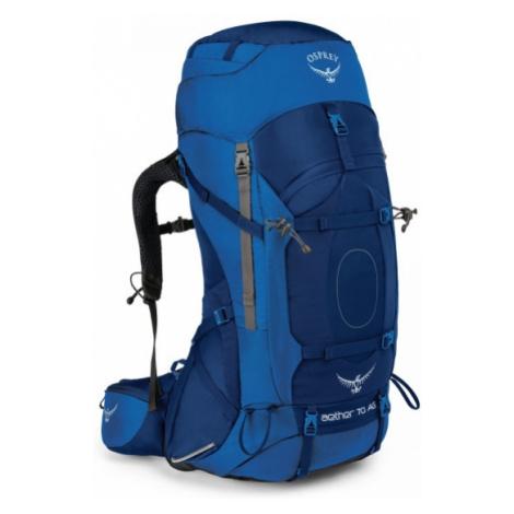 Osprey AETHER AG 70 M modrá - Turistický batoh