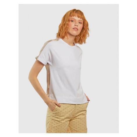 Tričko La Martina Woman Jersey/Voile T-Shirt