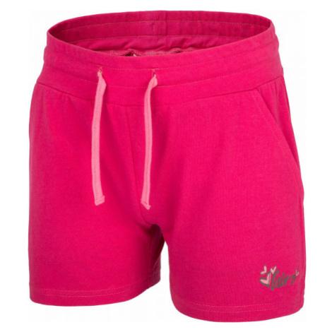 Lewro DERIAN ružová - Dievčenské šortky