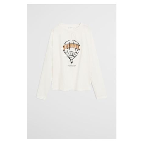 Mango Kids - Detské tričko s dlhým rukávom Balloon 110-164 cm