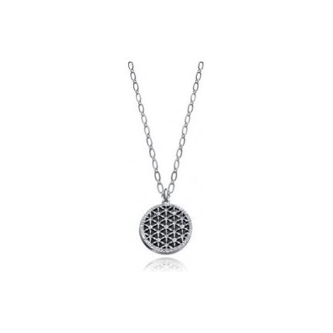 Viceroy Oceľový náhrdelník s kryštálmi Kiss 3226C09010