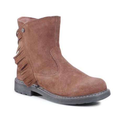 Členkové topánky Lasocki Young CI12-3060-03 Prírodná koža(useň) - Zamš