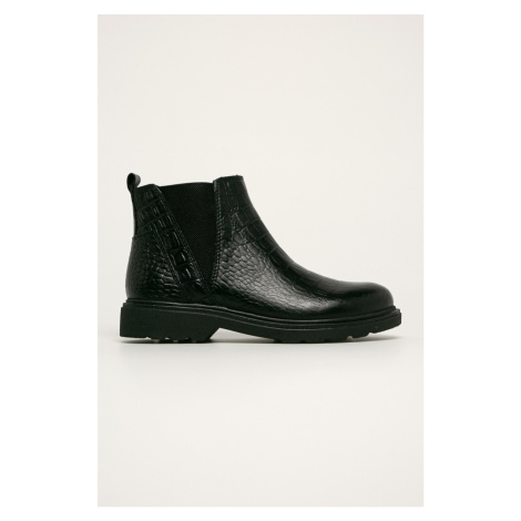 Marco Tozzi - Kožené topánky Chelsea