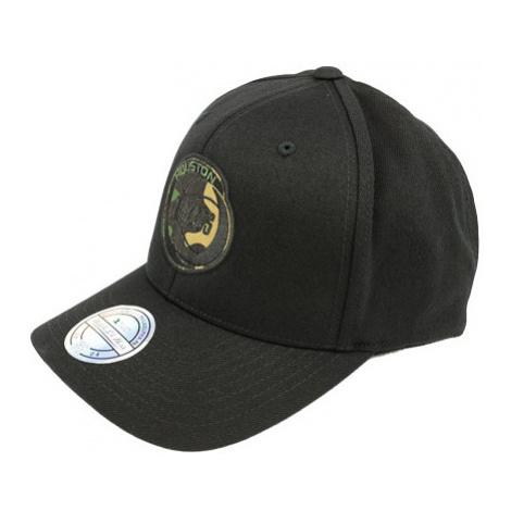 Mitchell & Ness Camo Logo Snapback Nba Houston Rockets Black