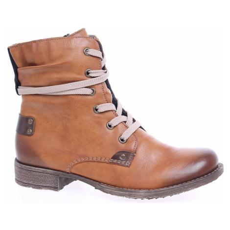 Dámská kotníková obuv Rieker 70820-24 braun 70820-24