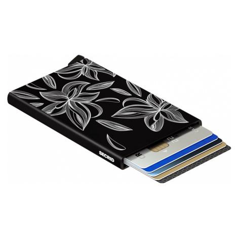 Secrid Cardprotector Laser Magnolia Black-One size čierne CLa-Magnolia Black-One size