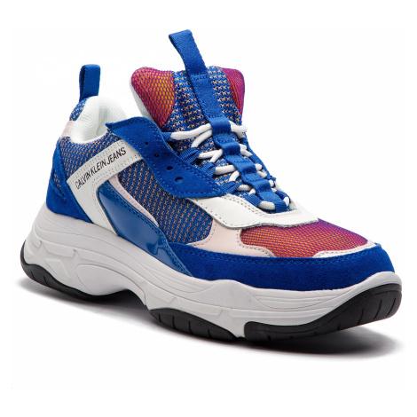 Sneakersy CALVIN KLEIN JEANS - Maya R7798 Nautical Blue/Rose/W