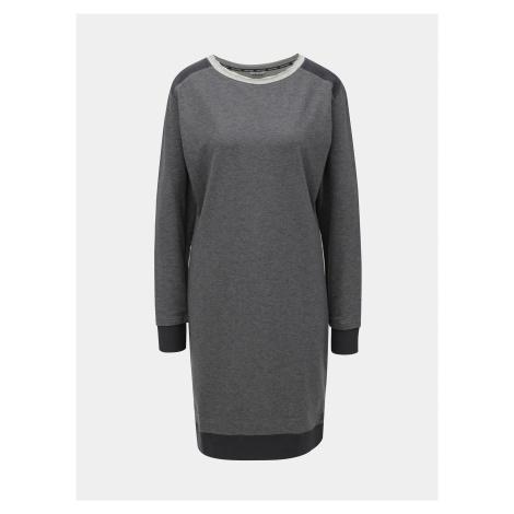 Sivé melírované funkčné šaty Kari Traa