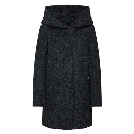 ONLY Prechodný kabát  čierna melírovaná