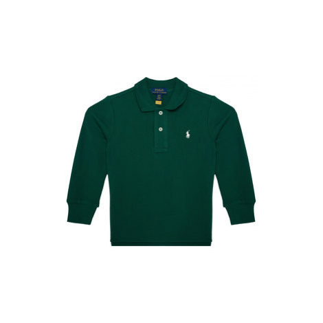 Polo Ralph Lauren Polokošeľa Ls Kc 321703634023 Zelená Regular Fit