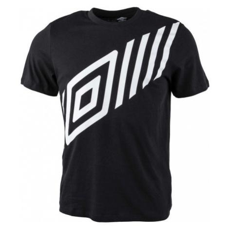 Umbro FW GRAPHIC TEE 1 čierna - Pánske tričko