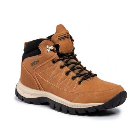 Šnurovacia obuv SPRANDI EARTH GEAR WP40-8410Y Ekologická koža/-Ekologická koža