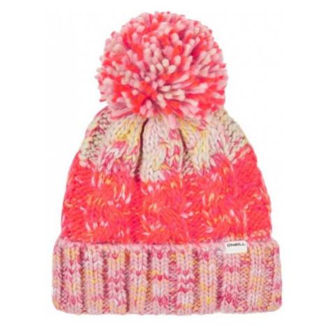 O'Neill BG POP-MELANGE BEANIE ružová 0 - Dievčenská čiapka