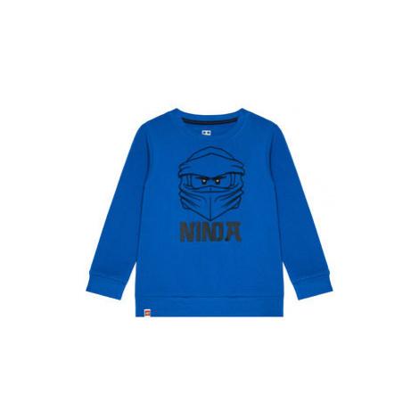 LEGO Wear Mikina 12010119 Modrá Regular Fit