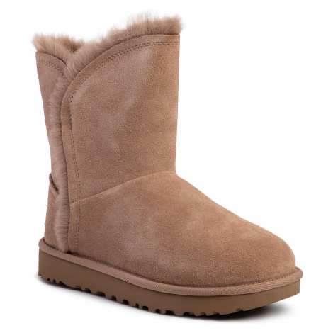 Topánky UGG - W Classic Short Fluff High-Low 1103746 Amp