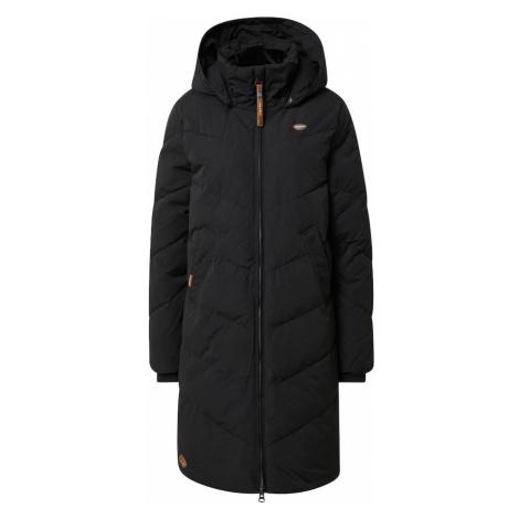 Ragwear Zimný kabát 'Rebelka'  hnedá / čierna