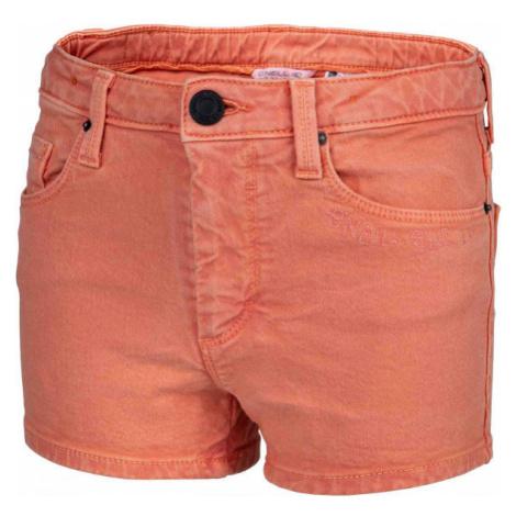 O'Neill LG CALI PALM SHORTS oranžová - Dievčenské šortky
