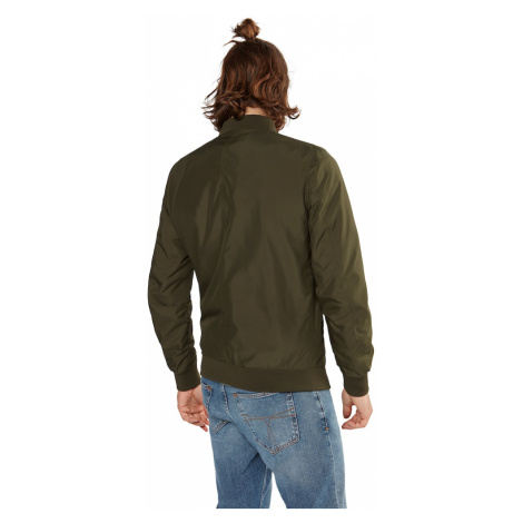 Urban Classics Prechodná bunda 'Light Bomber Jacket'  olivová