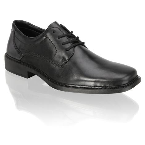 Rieker Šnurovacia obuv čierna