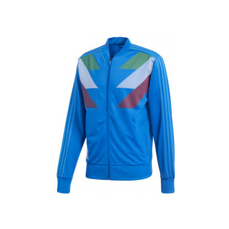 Pánská Mikina Adidas Country Identity Track Top Itálie Modrá
