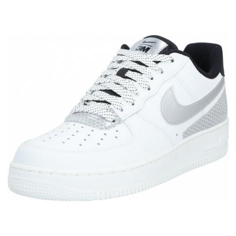 Nike Sportswear Nízke tenisky 'Air Force 1 '07 LV8'  biela / sivá / čierna