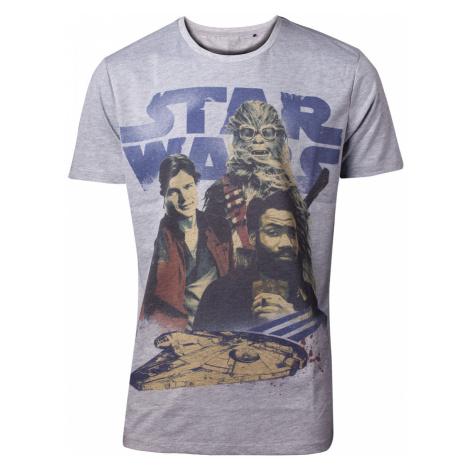Tričko Star Wars - Han Solo - 3 Is A Crowd