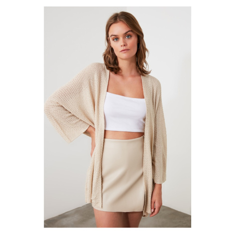 Trendyol Stone Knitwear Cardigan