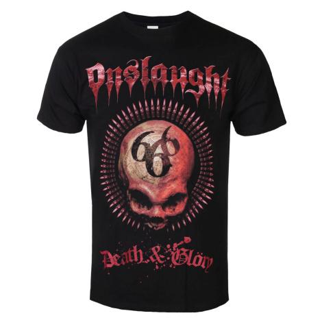 Tričko metal RAZAMATAZ Onslaught Death & Glory Čierna