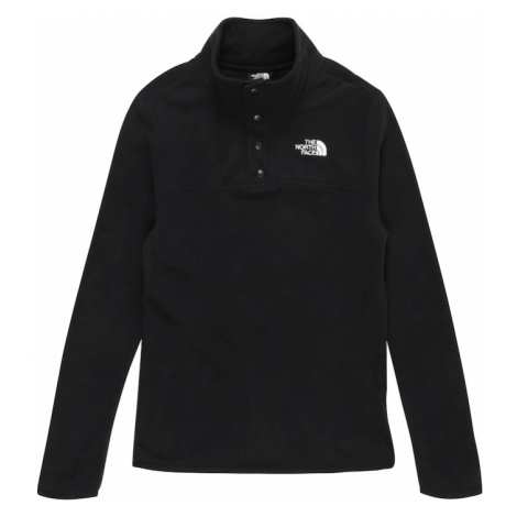 THE NORTH FACE Športový sveter 'GLACIER'  čierna / biela