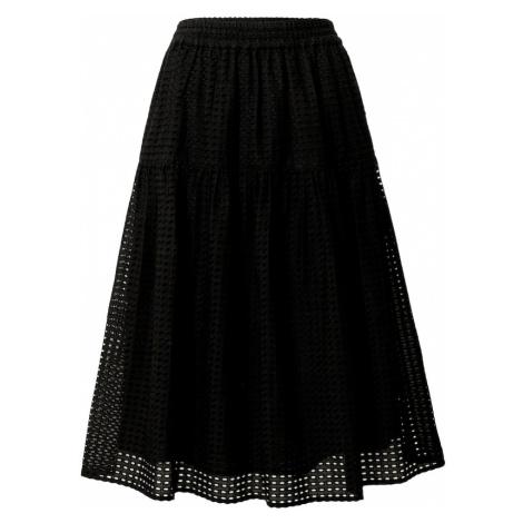 JUST FEMALE Sukňa 'Lyon'  čierna