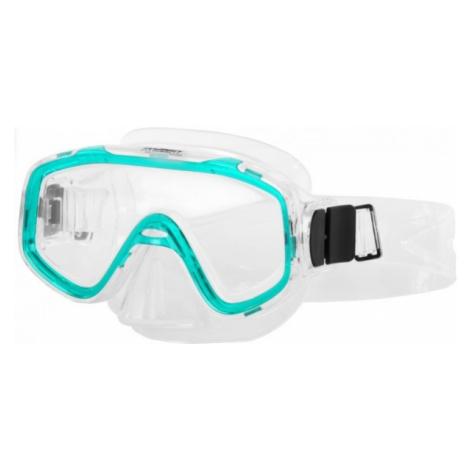 Miton NEPTUN JUNIOR zelená - Juniorská potápačská maska