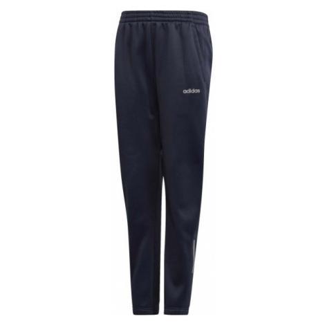 adidas YOUTH BOYS GEAR UP PANT tmavo modrá - Chlapčenské tepláky