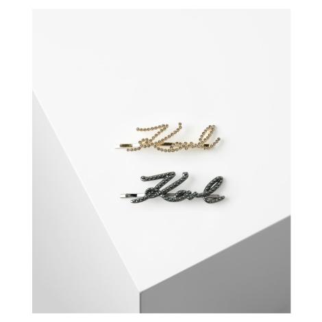 Doplnok Do Vlasov Karl Lagerfeld K/Signature Hair Clips