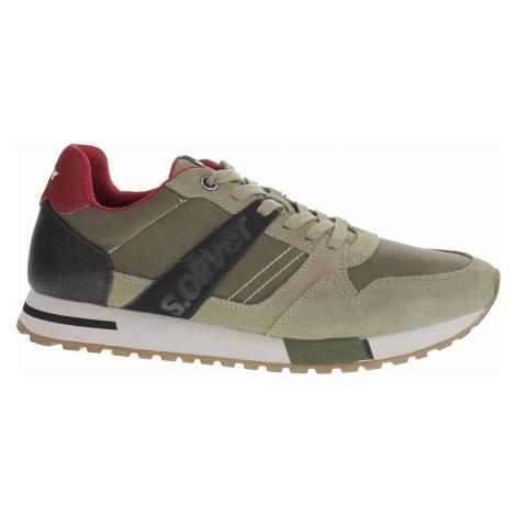 Pánská obuv s.Oliver 5-13610-23 olive 5-5-13610-23 720