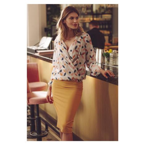 Žltá sukňa M658 Figl