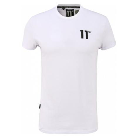 11 Degrees Tričko  biela / čierna