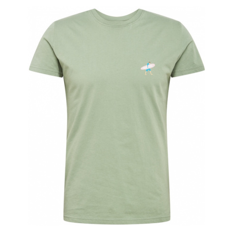 Revolution Tričko  mätová / modrá / ružová