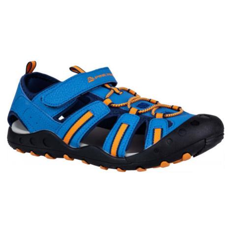 ALPINE PRO OLIVIO modrá - Juniorská letná obuv