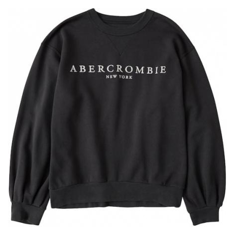 Abercrombie & Fitch Mikina 'Crew'  čierna