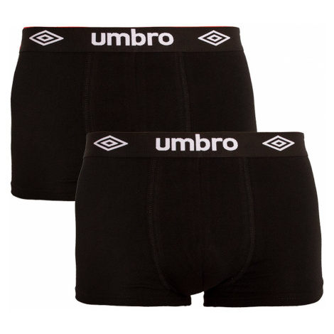 2PACK men's boxers Umbro black