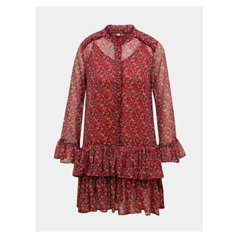 Pepe Jeans červené šaty - S