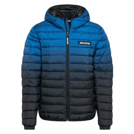 HOLLISTER Prechodná bunda 'CHANNEL'  čierna / nebesky modrá / modrá