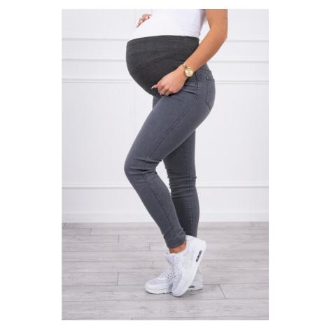 Maternity jeans graphite
