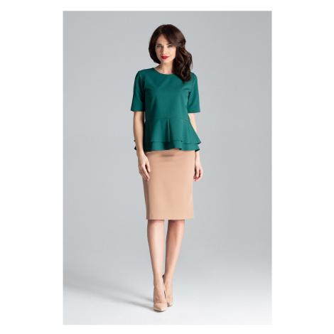 Lenitif Woman's Skirt L029 Brown