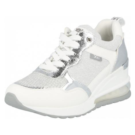 Xti Nízke tenisky  sivá / strieborná / biela