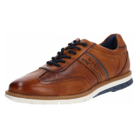 bugatti Športové šnurovacie topánky  hnedá